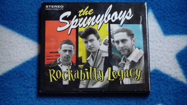 The Spunyboys cd The Spunyboys - Rockabilly Legacy
